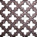 Small Cross 16mm Antique Copper Grille Powder Coated Steel Sheet 1000mm x 660mm x 1mm